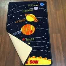 NON SLIP 50x80CM SPACE MAT WASHABLE TOP QUALITY SMALL MATS KIDS HOME/SCHOOL